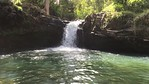 Twin Falls Hike (slow-mo video 28s)